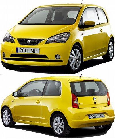 La VW Up! trouve une déclinaison dans la marque Seat avec cette <b>Seat Mii 3 portes</b>. Les dimensions extérieures et intérieures sont identiques à celle de la VW Up!, les différences se situant essentiellement au niveau de la face avant, de l'arrière et de quelques détails sur la planche de bord.